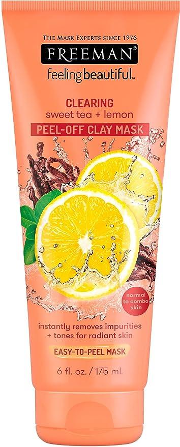 Sensación hermosa té dulce y limón peel-away arcilla máscara
