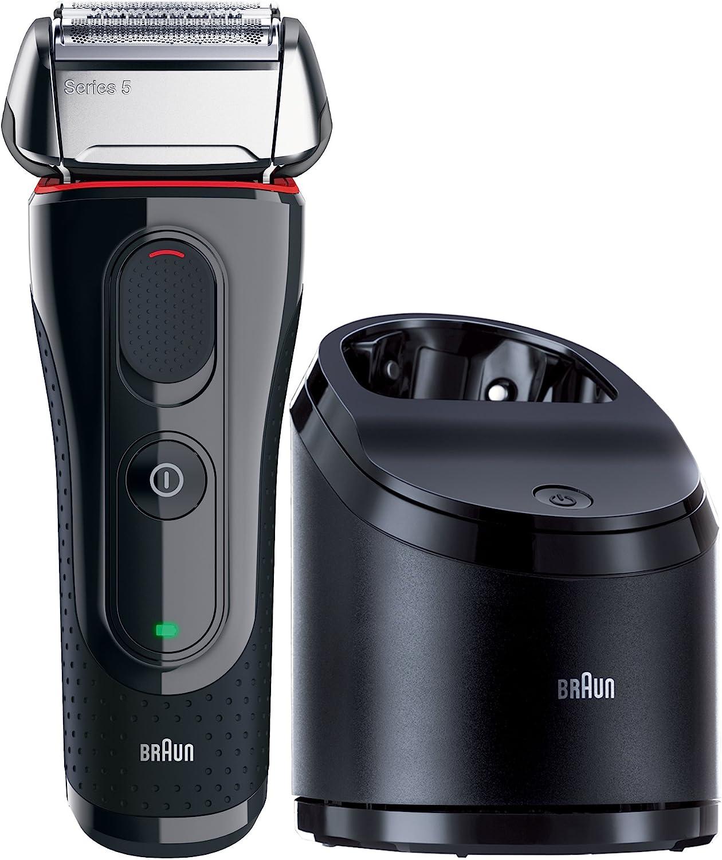 Braun 5070cc-5 Serie 5 - Afeitadora eléctrica con centro de ...