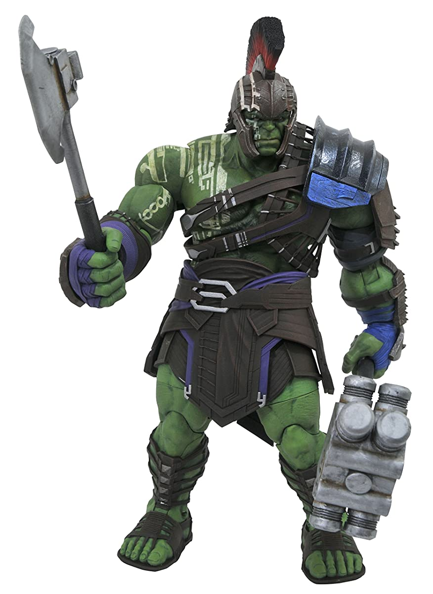 DIAMOND SELECT TOYS Marvel Select: Thor Ragnarok Gladiator Hulk Action Figure