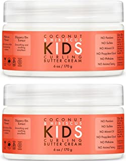 product image for Shea Moisture Coconut & Hibiscus Kids Curling Butter Cream, 6 Ounce, 2Pack