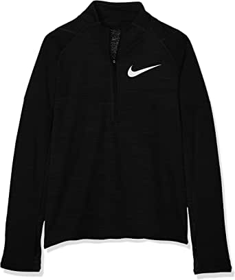 Nike Kids Dri-FIT Long-Sleeve 1/2-Zip Running Top