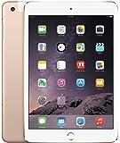 Apple iPad Mini 3 64GB 4G + Wi-Fi 4G LTE w/Siri & TouchID, Gold (Renewed)