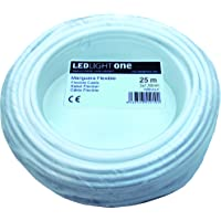 Cable H05VV-F Manguera 3x1,5mm 25m (Blanco)
