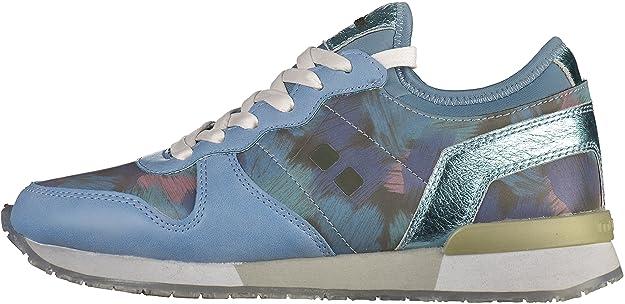 Munda:rt 117-MID Damen Sneakers Blau, EU 40 Mundart