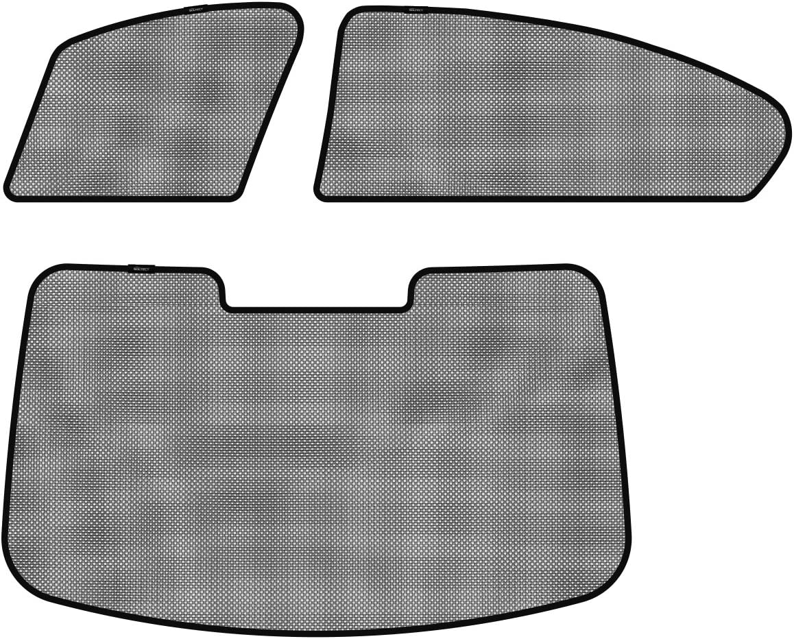 3D MAXpider S1BM0541 Soltect Side Window Custom Fit Sun Shade for Select BMW 5 Series Models