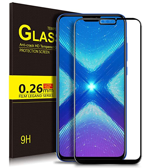 Amazon com: Huawei Honor 8X Screen Protector, Honor 8X