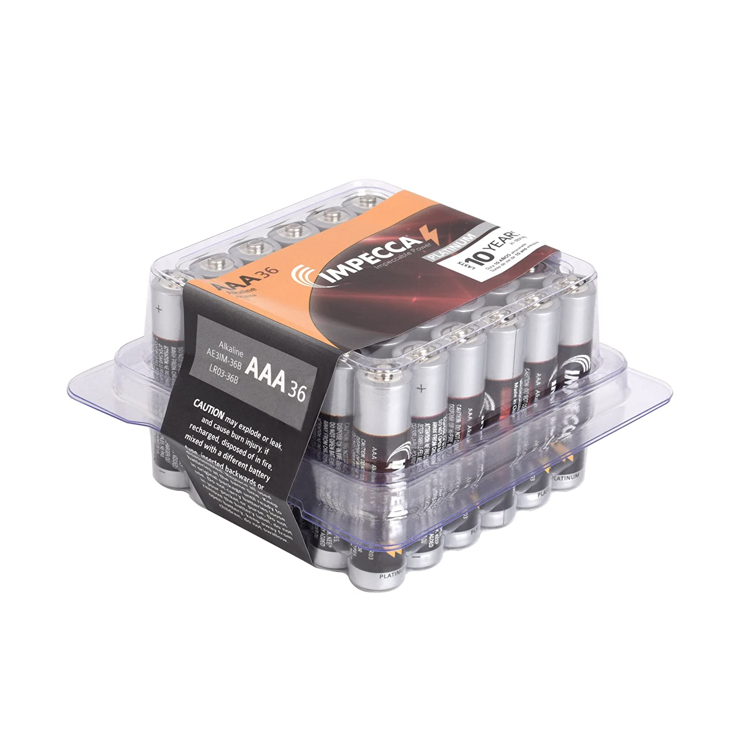 IPECCA Batteries 36-Count ONLY...
