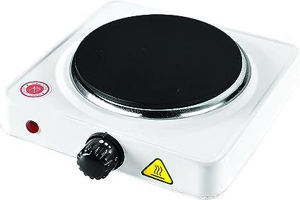 Telefunken M01862 hobs Blanco Mesa Hornillo eléctrico / - Placa (Blanco, Mesa, Hornillo eléctrico/Placa eléctrica, Esmaltado, 1000 W, 15,4 cm)