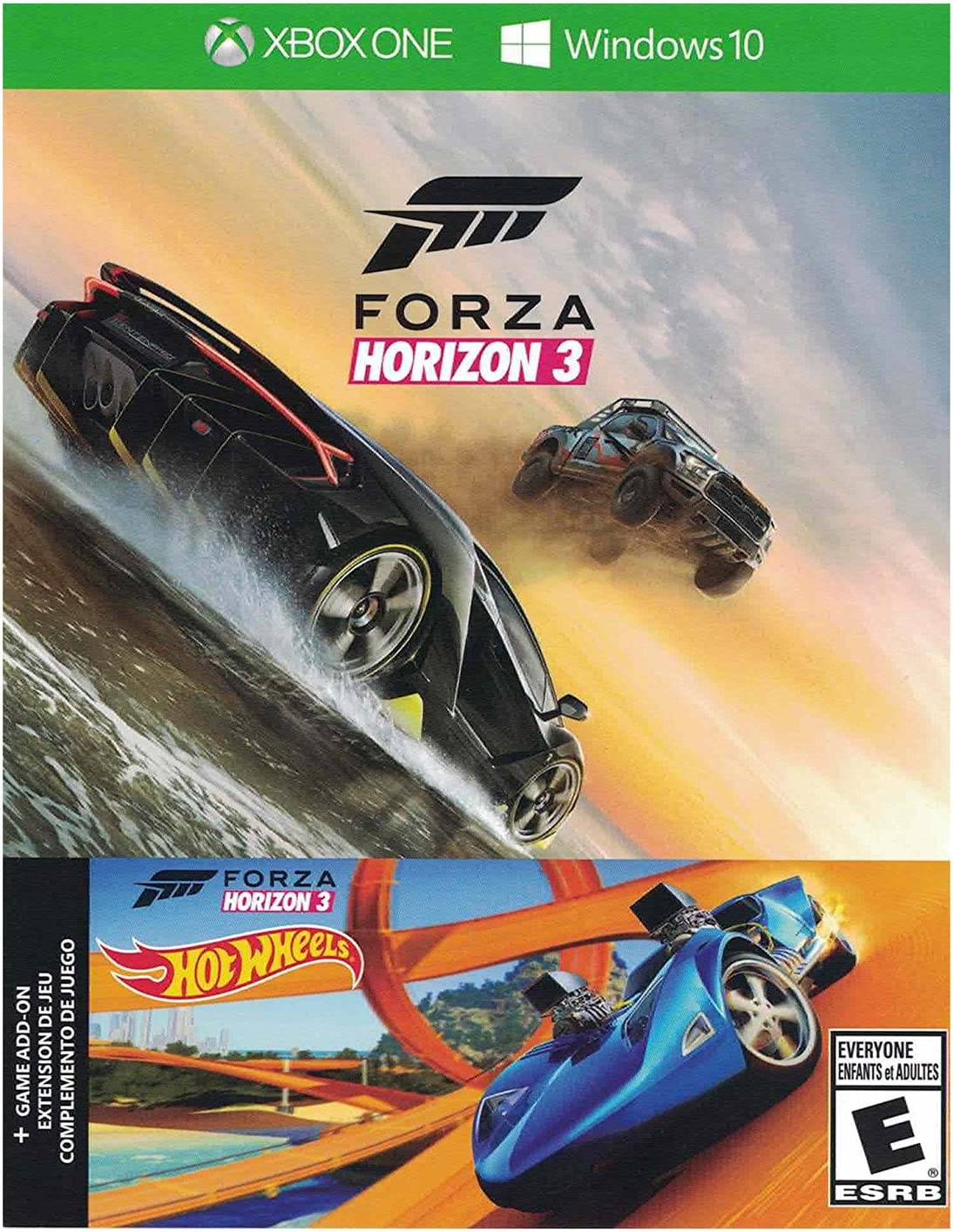 Microsoft Forza Horizon 3 + Hot Wheels DLC Xbox One/PC Digital ...