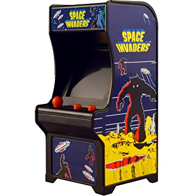 Tiny Arcade Space Invaders Miniature Arcade Game: Tiny Arcade: Toys & Games [5Bkhe0501403]