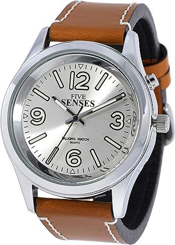 Reloj de pulsera para hombres mayores que hablan con fecha, reloj ...