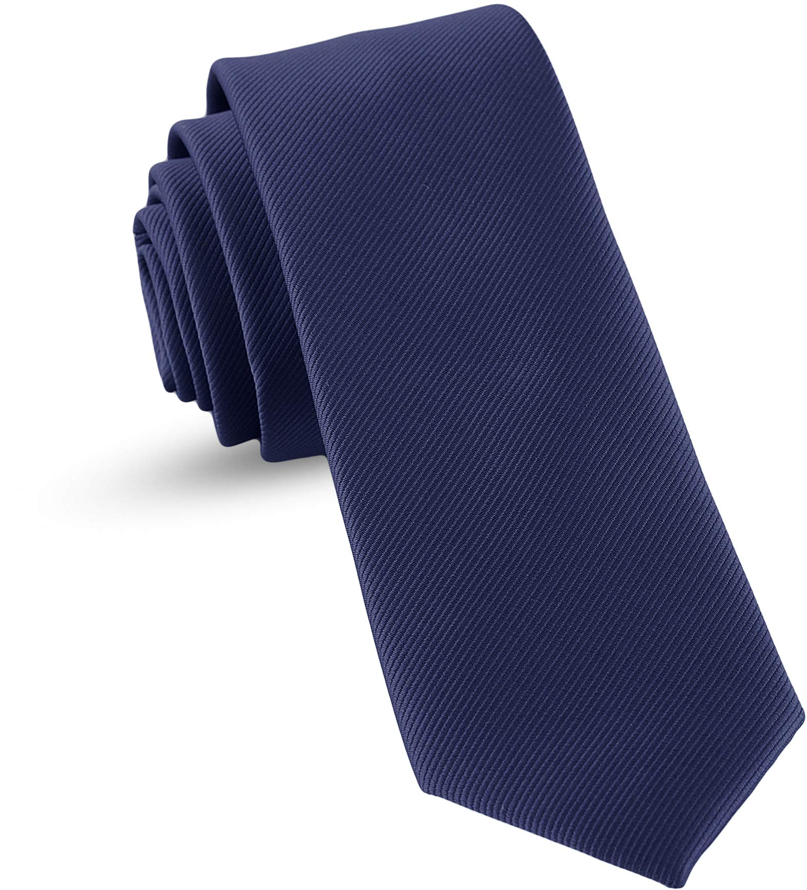 Handmade Self Tie Ties For Boys Woven Boys Navy Blue Ties: Neckties For Kids Wedding Graduation by LUTHER PIKE SEATTLE