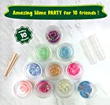 Incredible Slime Party Supplies Kit for 10 Girls