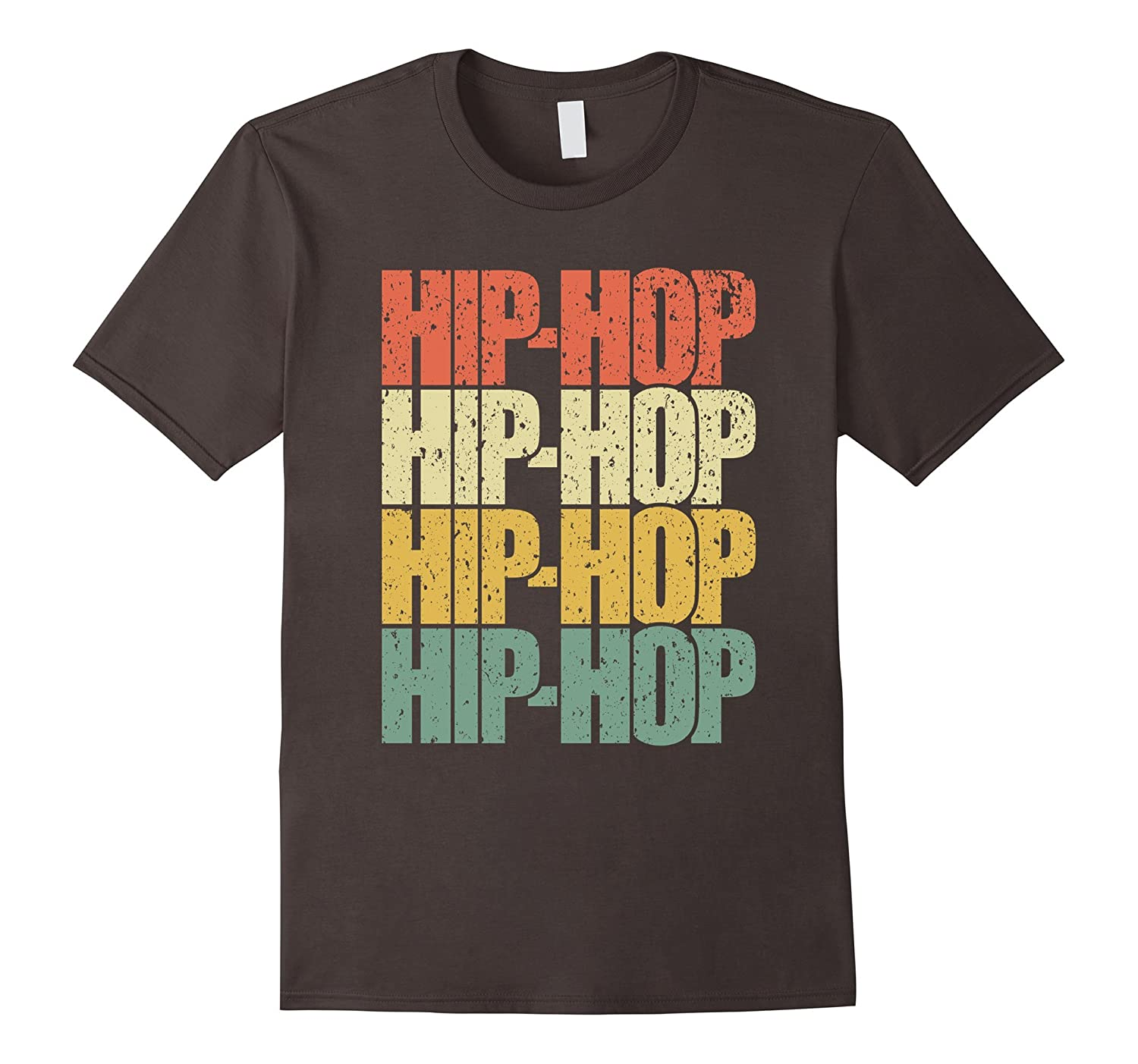 Hip hop vintage colors shirt retro vintage classic t for Just hip hop t shirt