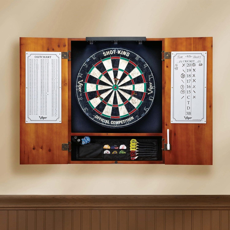 Amazon.com : Viper Shadow Buster Dartboard Cabinet Mounted Display ...