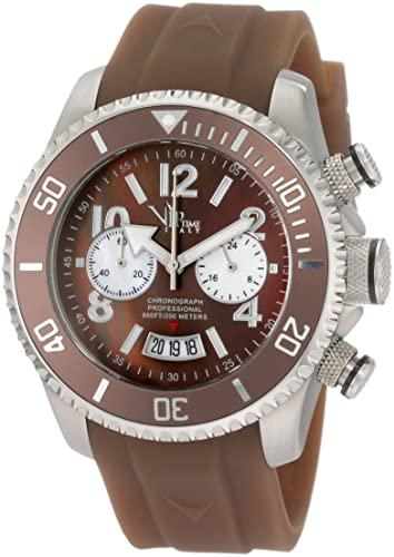 VIP TIME ITALY Reloj con Movimiento Cuarzo japonés Woman VP8028BR_BR 43 mm: Amazon.es: Relojes