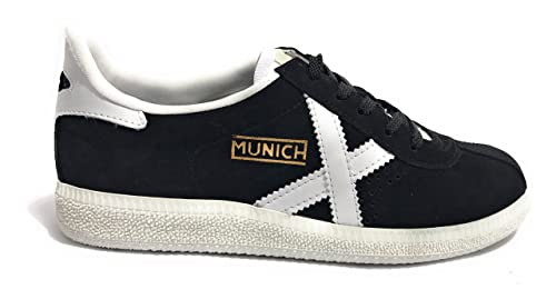 Zapatillas Munich Barru 25 39 Negro
