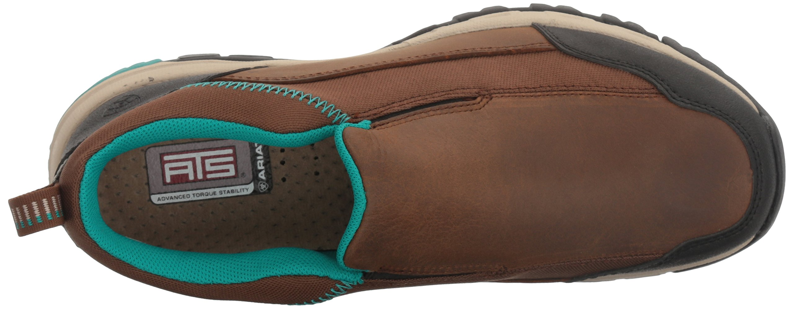 Ariat Women's Skyline Slip-on Hiking Shoe, Taupe, 8 B US by Ariat (Image #8)