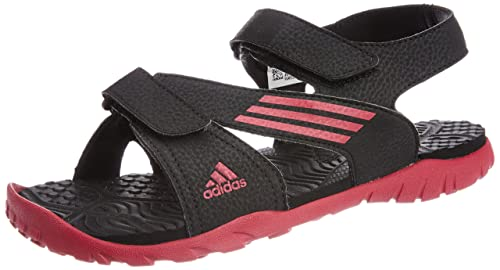 541c110d104 Image Unavailable. Image not available for. Colour  Adidas Women s Echo W  Black and Pink Fashion Sandals ...