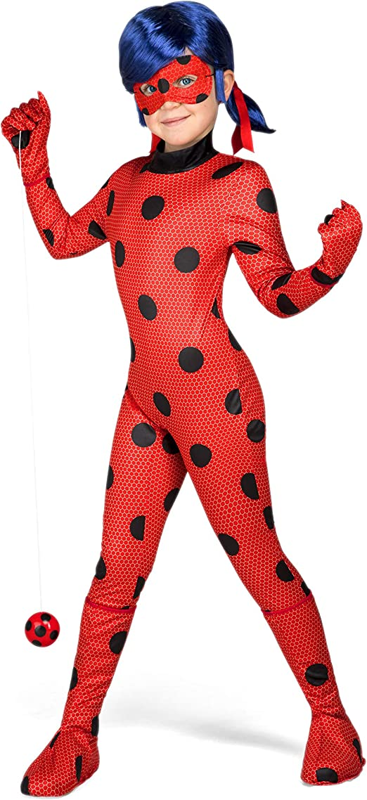 My Other Me Me-231159 Miraculous Disfraz Ladybug, 9-11 años ...