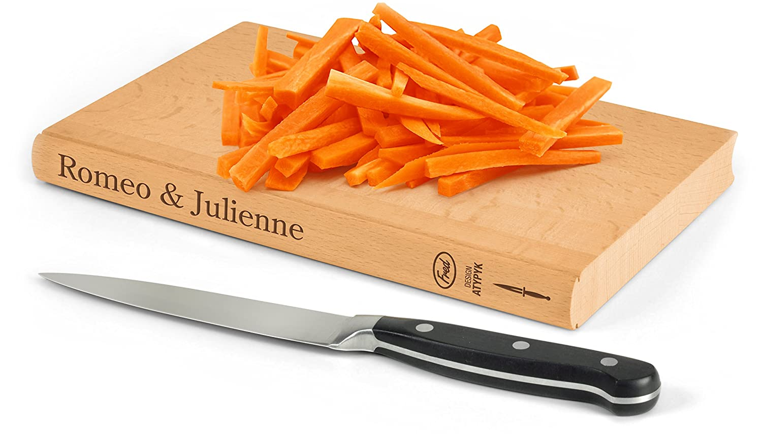 Romeo & Julienne cutting board