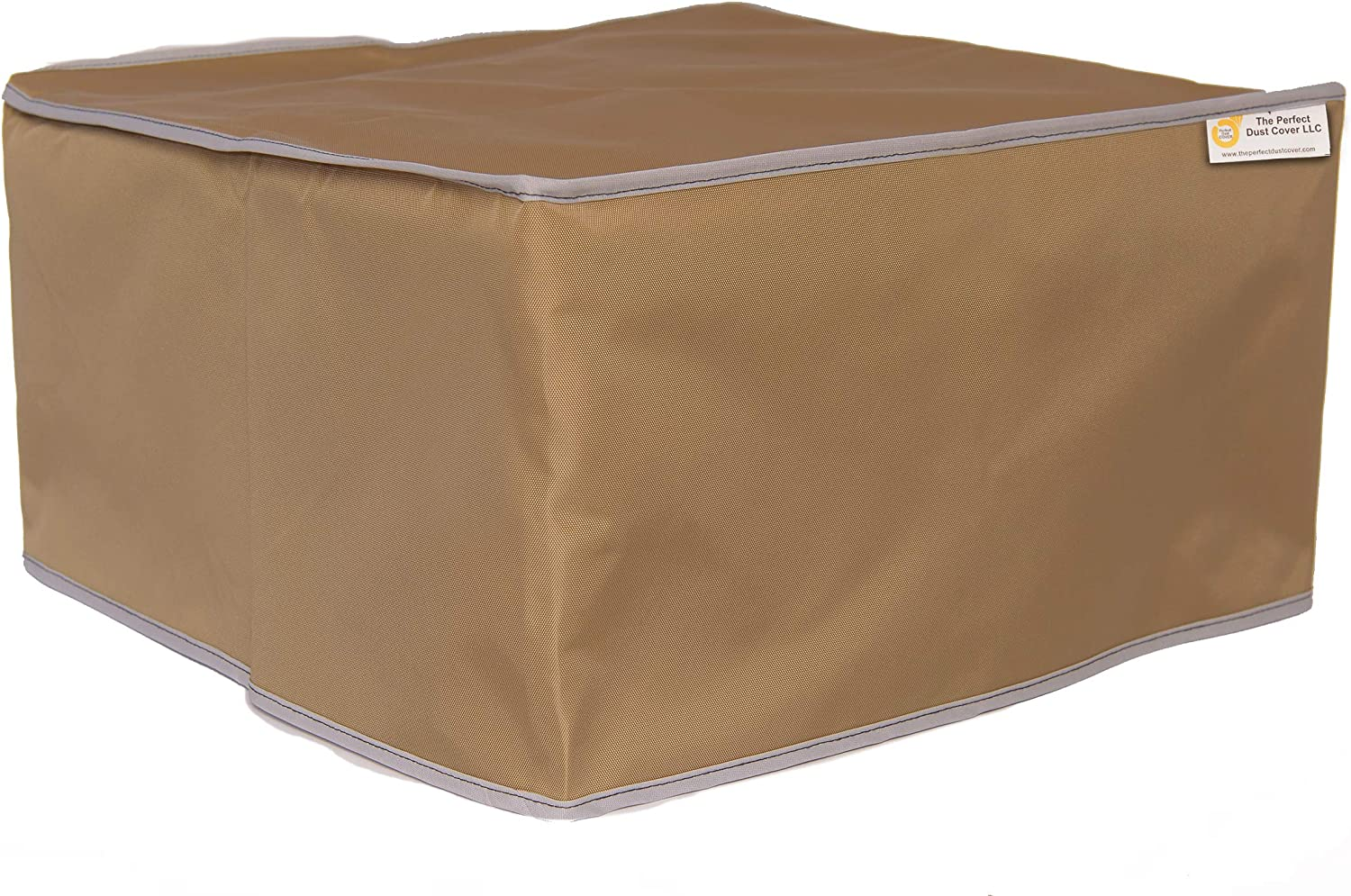 The Perfect Dust Cover, Tan Nylon Cover for HP OfficeJet Pro 8702 All-in-One Wireless Printer, Anti Static and Waterproof Cover Dimensions 19.7''W x 15.9''D x 12.5''H by The Perfect Dust Cover LLC
