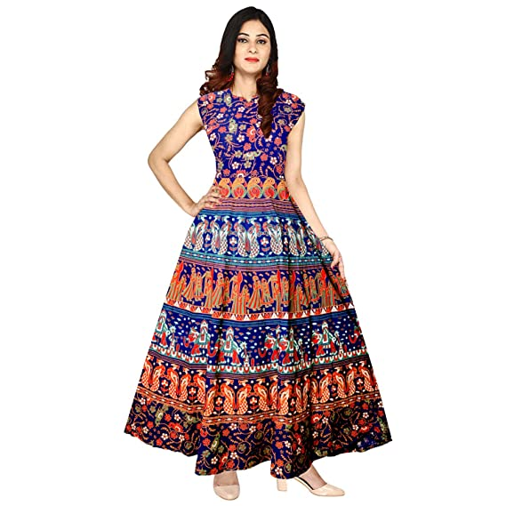 d026027006 Silver Organisation Women s Cotton Gown (Free Size)  Amazon.in  Clothing    Accessories