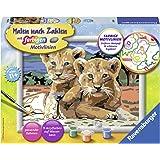 """Ravensburger - 286393 - Numéro D'art Set """"Petits Bébés De Lion"""""""