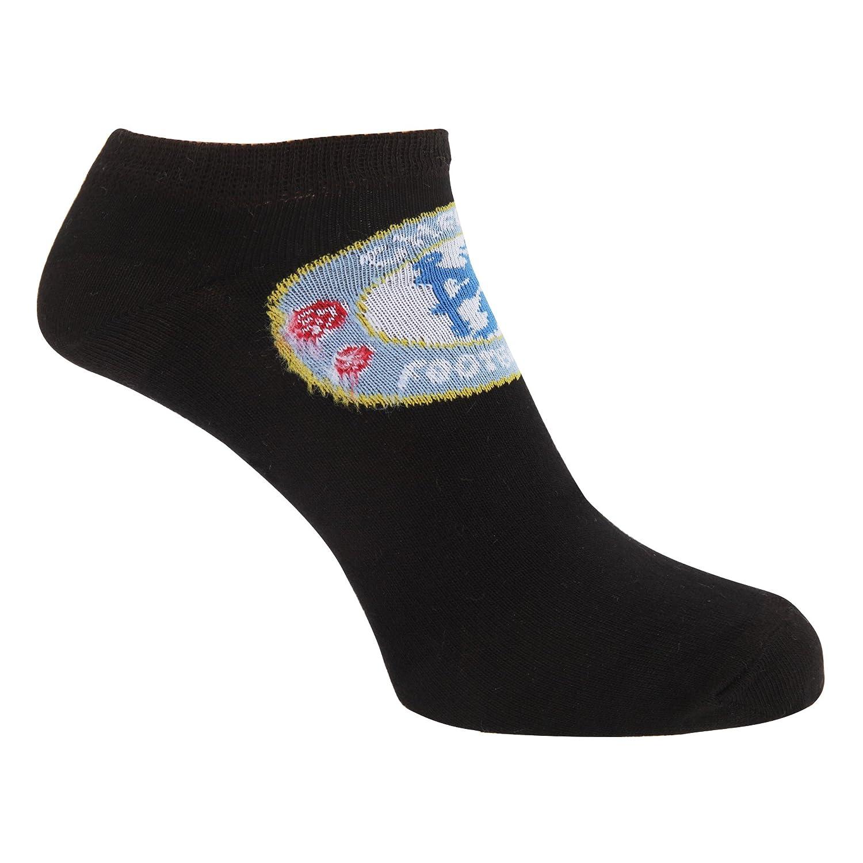 Chelsea FC Mens Official Football Crest Trainer Socks (1 Pair) UTSG7117_1