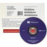 Windows 10 Professional 64 Bit OEM DVD - Deutsch - 1 Lizenz - Betriebssystem Windows 10 Professional Vollversion…