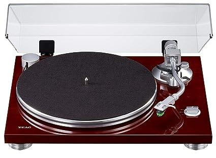 Teac TN-3B - Tocadiscos con accionamiento por Correa (Amplificador MM-Phono-EQ Integrado, Salida USB Digital, Brazo de Sonido SAEC, Velocidad de 33 y ...