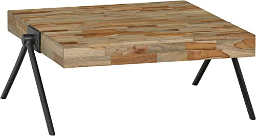Amazon Brand Rivet Hendrix Rustic Wooden Table