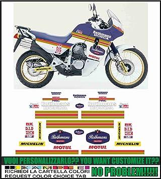 Grapichsmoto Kit Adesivi Decal Stikers Honda Transalp Xl 600