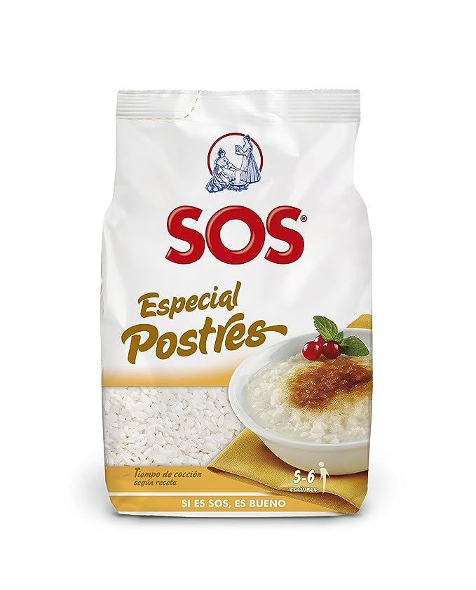 SOS Arroz Blanco Redondo Especial Postres - 500 g: Amazon.es: Amazon Pantry