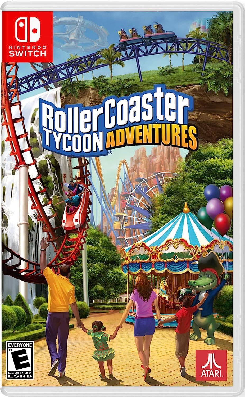 Amazon.com: Rollercoaster Tycoon: Adventures - Nintendo Switch Standard  Edition: Video Games