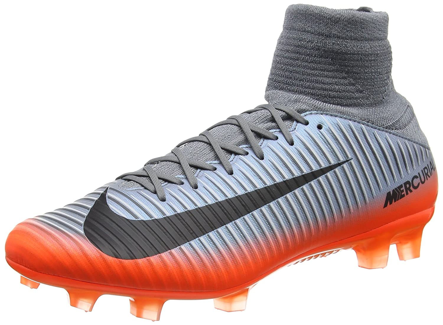 c12f737b Amazon.com | Nike Mercurial Veloce III DF CR7 FG 852518-001 Grey/Hematite  Men's Soccer Cleats | Soccer