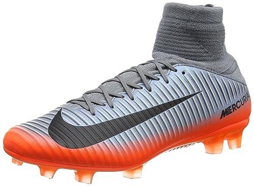 check out c04bb edbc3 Nike Mercurial Veloce III DF Cr7 Fg, Scarpe da Calcio Uomo, Grigio (Cool