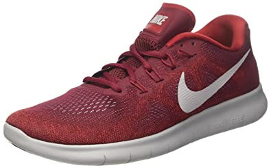 a024e27a9589 Nike Men s Free RN 2017 Running Shoe Team Red Wolf Grey Tough Red Size