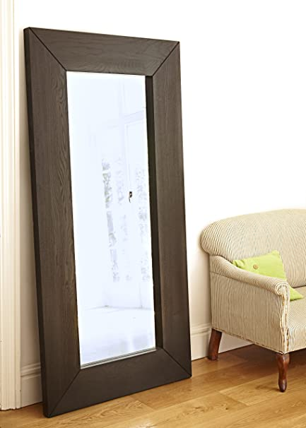 Oak Framed Mirror: Amazon.co.uk: Kitchen & Home