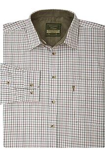 Walker and Hawkes - Camisa de Manga Larga para Hombre - Algodón de fácil Cuidado - Estilo leñador - Estampado a Cuadros: Amazon.es: Ropa y accesorios