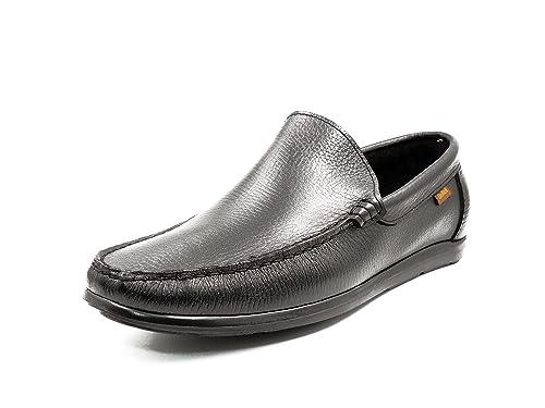 Deltell Zapato Casual Hombre Tipo Mocasin EN Piel Serraje Color ...