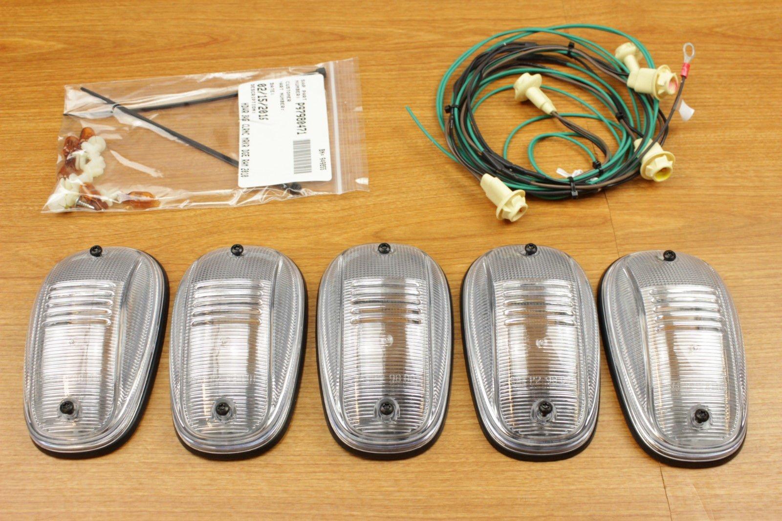 Amazon.com: Dodge Ram 1500 2500 3500 Roof Cab Clearance Lamps Light Kit  Mopar OEM: Automotive
