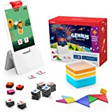 Osmo - Genius Starter Kit for Fire Tablet - Ages 6-10 - Math, Spelling, Creativity & More - STEM Toy (Osmo iPad Base Included