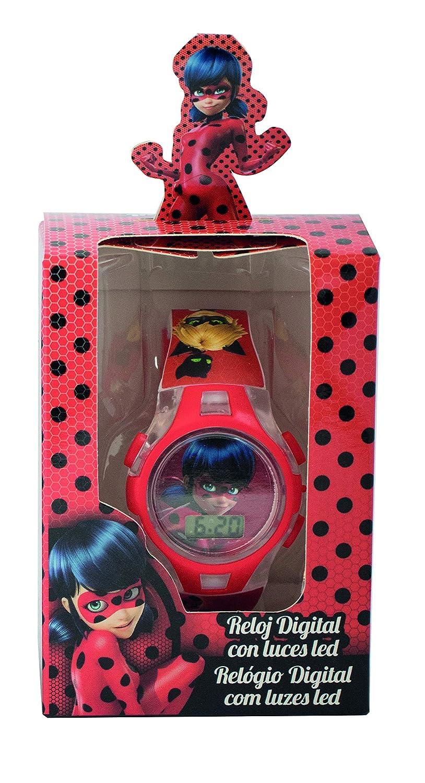 MIRACULOUS LADYBUG orologio digitale in plastica per bambina