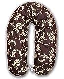 Amilian® Stillkissen Lagerungskissen Seitenschläferkissen ink.Bezug 170cm NEU XXL Baby Schokolade