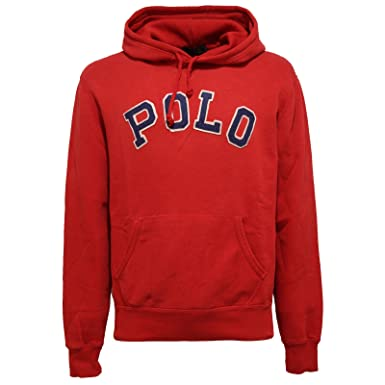 Ralph Lauren - Sweat-Shirt à Capuche - Homme Rouge Rouge - Rouge - XL 391f09af30c