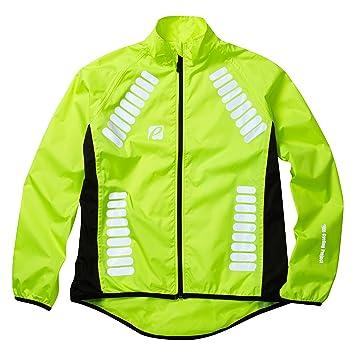 Elite Cycling Project Cyclone – Chaqueta impermeable de ciclismo para hombre , hombre, Hi Viz Green