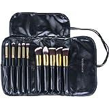 Set di Pennelli da trucco – Meersee Pennelli Trucco professionali Pennello fondotinta Ombretti Pennelli Make up