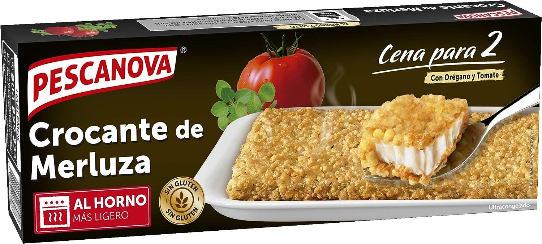 Pescanova - Crocante de Merluza sin Gluten - 370 grs: Amazon ...