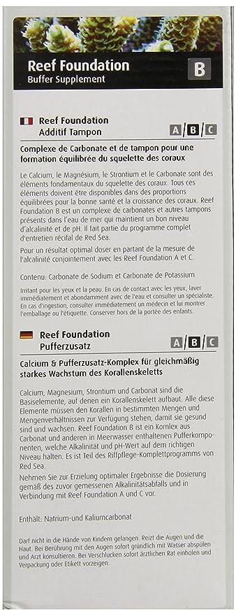 Amazon.com: Mar Rojo Pescado Pharm are22023 Reef Foundation ...